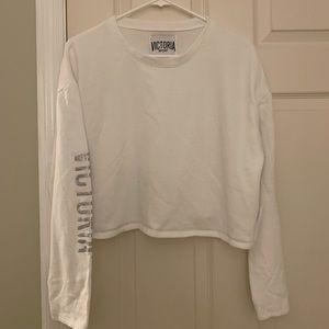 Women's Victoria's Secret Sport Crop Sweatshirt